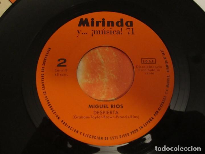 Discos de vinilo: MIGUEL RÍOS HIMNO A LA ALEGRÍA - DESPIERTA DISCO MIRINDA 1971 - Foto 5 - 224550842