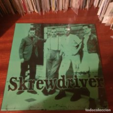 Disques de vinyle: SKREWDRIVER / STREET FIGHT / UNBELIEVER / NOT ON LABEL. Lote 224554855