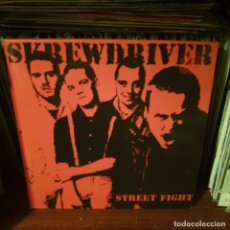 Dischi in vinile: SKREWDRIVER / STREET FIGHT / UNBELIEVER / NOT ON LABEL. Lote 224554890