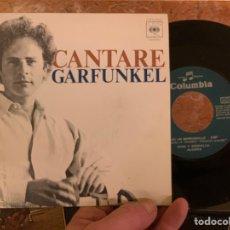 Discos de vinilo: CANTARE GARFUNKEL DISCO VINILO. Lote 224555248