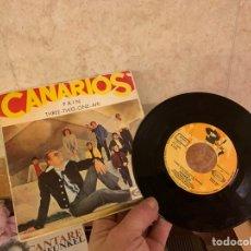 Discos de vinilo: CANARIOS VINILO PEQUEÑO. Lote 224555303