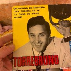 Discos de vinilo: TORREBRUNO FUNDA PARA DISCO OJO!!! NO ESTA EL DISCO. Lote 224555325