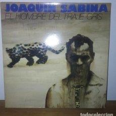 Discos de vinilo: JOAQUIN SABINA - EL HOMBRE DEL TRAJE GRIS - 1988 -LP - CARPETA DOBLE. Lote 224557773
