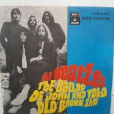 Discos de vinilo: THE BEATLES- THE BALLAD OF JOHN AND YOKO - SPAIN SINGLE 1969 - VINILO EN BUEN ESTADO.. Lote 224561576