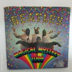 Discos de vinilo: THE BEATLES- MAGICAL MYSTERY TOUR- ESTEREO - SPAIN EP 1967- BLACK LABEL.. Lote 224566706