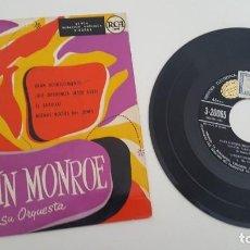 Discos de vinilo: VAUGHN MONROE CON SU ORQUESTA SINGLE GRAN ACONTECIMIENTO Y TRES MAS. Lote 224568752