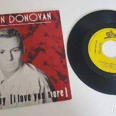 Discos de vinilo: JASON DONOVAN SINGLE EVERY DAY (I LOVE YOU MORE) (UNA CARA). Lote 224569317