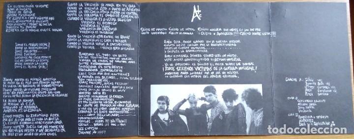 Discos de vinilo: Último Resorte: Segunda edición, 1982 - Foto 3 - 224578981