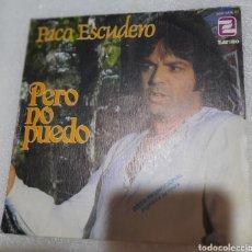 Discos de vinilo: PACO ESCUDERO - PERO NO PUEDO. Lote 224580412