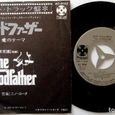 Discos de vinil: NINO ROTA - LOVE THEME FROM THE GODFATHER (EL PADRINO) - SINGLE PARAMOUNT 1972 JAPAN BPY. Lote 224584665