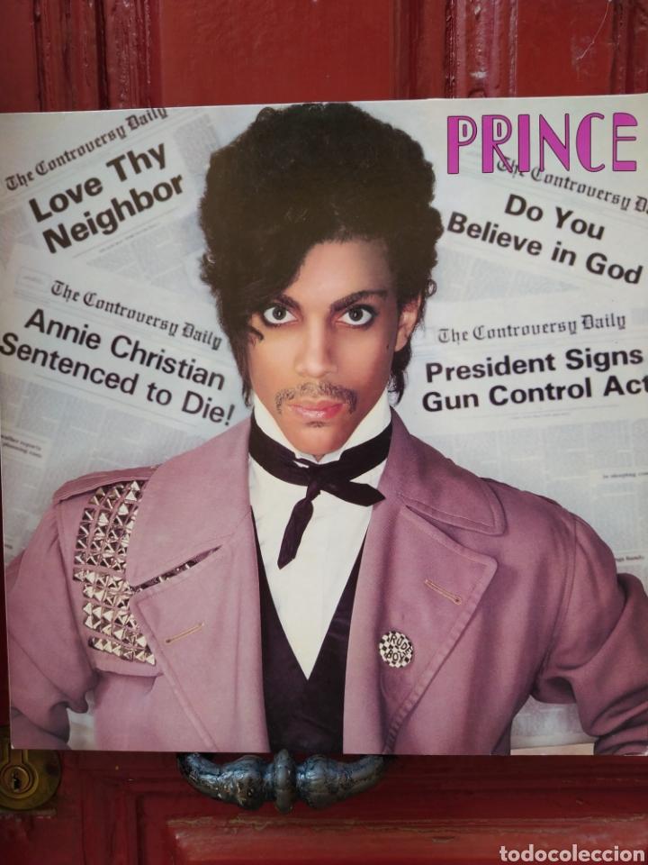 PRINCE -CONTROVERSY . LP VINILO EDICION DE 1981. PERFECTO ESTADO (Música - Discos - LP Vinilo - Pop - Rock - New Wave Extranjero de los 80)