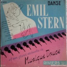 Discos de vinilo: EMIL STERN ET SON GRAN ORCHESTRE DE MUSIQUE DOUCE: DANSE. Lote 224588785