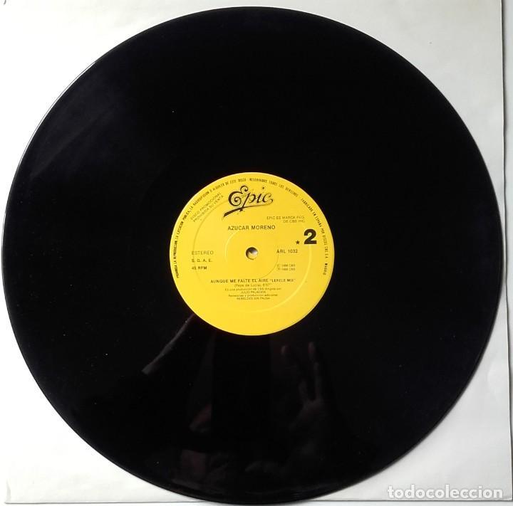 AZÚCAR MORENO/ TIJERITAS: BAMBOLEO/ AUNQUE ME FALTE EL AIRE (Música - Discos de Vinilo - Maxi Singles - Flamenco, Canción española y Cuplé)