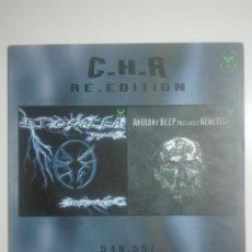 Discos de vinilo: DISCO VINILO C.H.R. RE.EDITION 548.557 DJ OGALLA STORM SOUND Y ANTHONY BEEP GENETICA - 250G. Lote 224592027