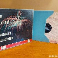 Discos de vinilo: GRAN CARRUSEL DE MELODÍAS MUNDIALES / ESTUCHE CON 12 VINILOS DE LUJO / READER'S DIGEST. ****/****. Lote 224592360