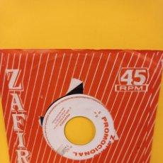 Discos de vinilo: FRANCESCA - SI YO CANTO + TE QUIERO, NO LO OLVIDES - AÑO 1964, ZAFIRO 00 24 (SINGLE PROMOCIONAL). Lote 224580533