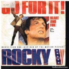 Discos de vinil: ROCKY V - GO FOR IT! - SINGLE 1990. Lote 224595145