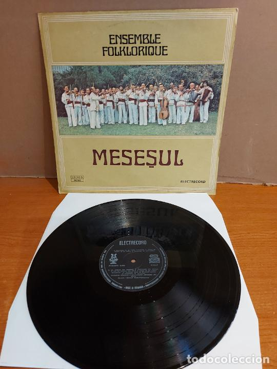 ENSEMBLE FOLKLORIQUE / MESESUL / LP - ELECTRECORD-ROMANIA-1980 / MBC. ***/*** DIFÍCIL. (Música - Discos - LP Vinilo - Étnicas y Músicas del Mundo)