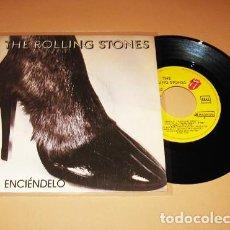 Discos de vinilo: THE ROLLING STONES - ENCIENDELO (START ME UP) - SINGLE - 1981. Lote 224616663