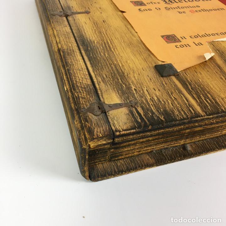 Discos de vinilo: Cofre Melodía de LAS 9 SINFONIAS de BEETHOVEN (7LPs) - CINZANO - Foto 3 - 224617545