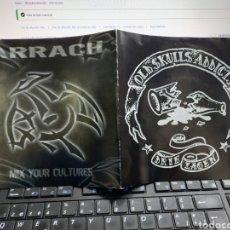Discos de vinilo: DRIE LAGEN / ARRACH – OLD SKULLS ADDICTS EP FRANCIA 2003. Lote 224624300