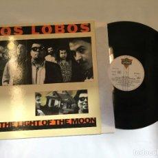 Discos de vinilo: LOS LOBOS BY THE LIGHT OF THE MOON. Lote 224627616