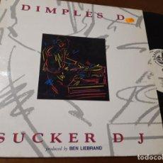 Discos de vinilo: DIMPLES D – SUCKER DJ - MAXI-ESPAÑA. Lote 224631240