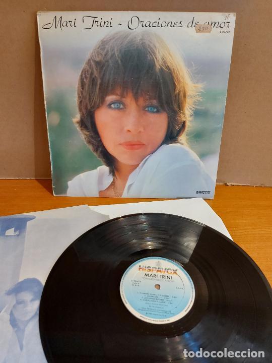 MARI TRINI / ORACIONES DE AMOR / LP - HISPAVOX-1981 / MBC. ***/*** (Música - Discos - LP Vinilo - Solistas Españoles de los 70 a la actualidad)