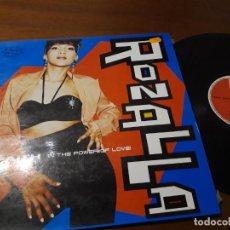 Discos de vinilo: ROZALLA - FAITH - MAXI - ESPAÑA-. Lote 224636466