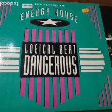 Discos de vinilo: LOGICAL BEAT - DANGEROUS-MAXI-GERMANY-. Lote 224637563