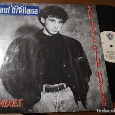 Discos de vinilo: RAUL ORELLANA THE REAL WILD HOUSE THE REMIXES -MAXI-ESPAÑA-. Lote 224638306