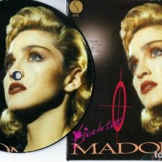 Discos de vinilo: MADONNA 7 INCH VINYL SINGLE LIVE TO TELL ONE SIDED PICTURE DISC MADAME X. Lote 224645140