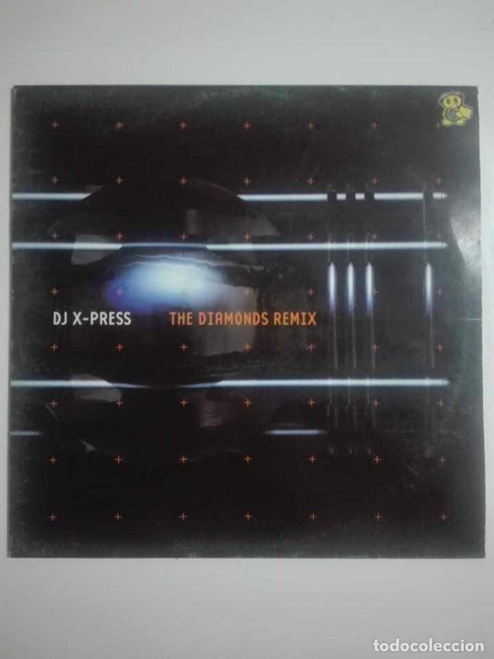 DISCO VINILO DJ X-PRESS THE DIAMONDS REMIX - UNICO EN TC - MAKINA - 250G (Música - Discos de Vinilo - Maxi Singles - Otros estilos)
