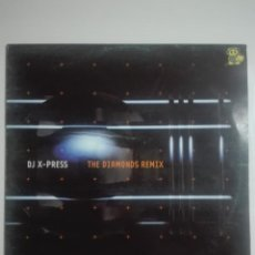 Discos de vinilo: DISCO VINILO DJ X-PRESS THE DIAMONDS REMIX - UNICO EN TC - MAKINA - 250G. Lote 224650103