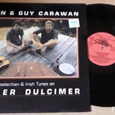 Discos de vinilo: LP- EVAN & GUY CARAWAN - APPALACHIAN & IRIS TUNES ON HAMMER DULCIMER. Lote 224652856