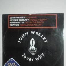 Discos de vinilo: DISCO VINILO EP 90'S VOL 18 JOHN WESLEY LOVER WHY Y MAS EXITAZOS ORIGINALES - HOUSE - 250G. Lote 224653832