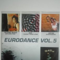 Discos de vinilo: EP DISCO VINILO EURODANCE VOL 5 TALKING BEATS 840 KRYSS - MAKINA DANCE - UNICO EN TC - 210G. Lote 224655981