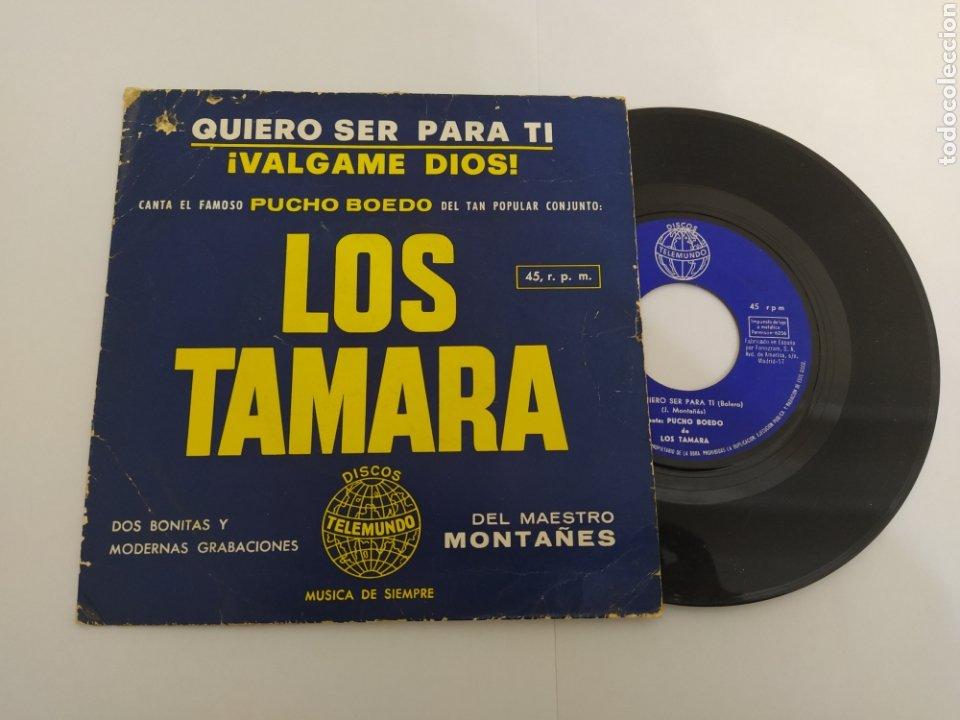 MM DISCO DE VINILO - PUCHO BOEDO DE LOS TAMARA - QUIERO SER PARA TI (Música - Discos - Singles Vinilo - Grupos Españoles 50 y 60)