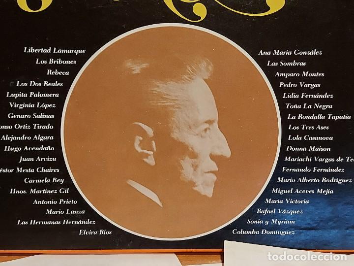 Discos de vinilo: LOS 36 MEJORES INTÉRPRETES DE AGUSTÍN LARA / ESTUCHE 3 LPS DE MUY BUENA CALIDAD. 1965. ***/*** - Foto 3 - 224658042
