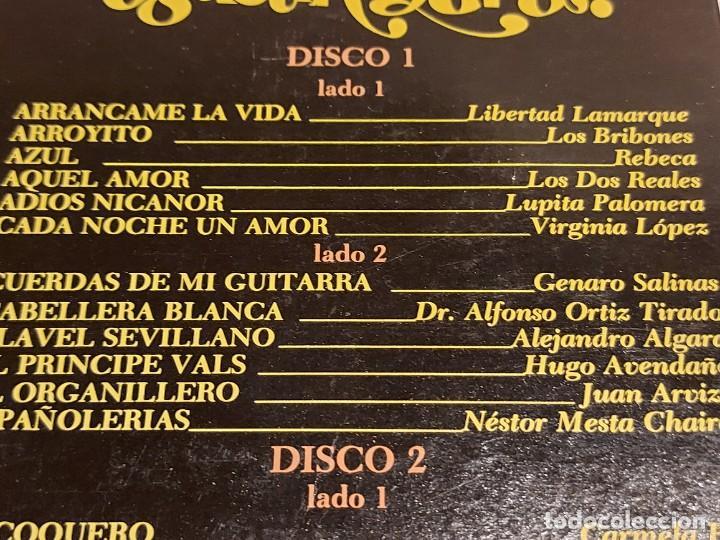 Discos de vinilo: LOS 36 MEJORES INTÉRPRETES DE AGUSTÍN LARA / ESTUCHE 3 LPS DE MUY BUENA CALIDAD. 1965. ***/*** - Foto 4 - 224658042