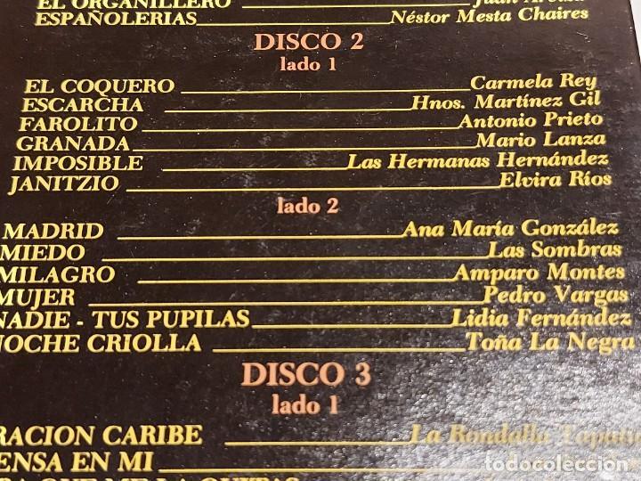 Discos de vinilo: LOS 36 MEJORES INTÉRPRETES DE AGUSTÍN LARA / ESTUCHE 3 LPS DE MUY BUENA CALIDAD. 1965. ***/*** - Foto 5 - 224658042