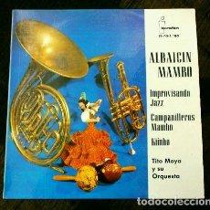 Discos de vinilo: TITO MOYA Y SU ORQUESTA (EP. 1962) (NUEVO) ALBAICIN MAMBO - IMPROVISANDO JAZZ, KIMBO (RARO). Lote 224658197