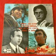 Discos de vinilo: LONE STAR (EP. 1967) CIERRA LOS OJOS - UN GRAN SEÑOR - TODO VA BIEN - SOY UN LOCO POETA. Lote 224659295