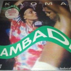 Discos de vinilo: KAOMA-LAMBADA. Lote 224661886