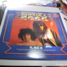 Discos de vinilo: LP T. REX. HISTORIA DE LA MÚSICA ROCK Nº 13 ORBIS. POLYDOR 1982 (PROBADO, SEMINUEVO). Lote 224664603
