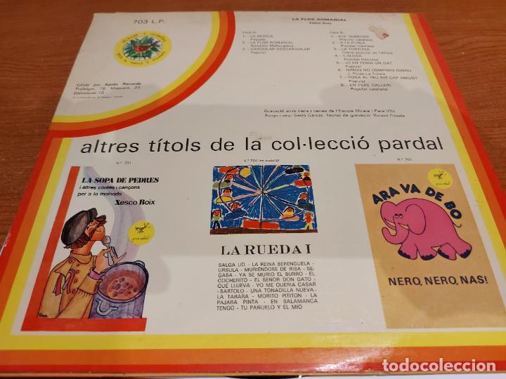 Discos de vinilo: XESCO BOIX / LA FLOR ROMANIAL / LP - PARDAL-1977 / MBC. ***/*** LETRAS. - Foto 2 - 224665475