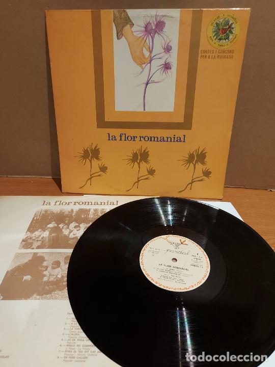 XESCO BOIX / LA FLOR ROMANIAL / LP - PARDAL-1977 / MBC. ***/*** LETRAS. (Música - Discos - LPs Vinilo - Música Infantil)
