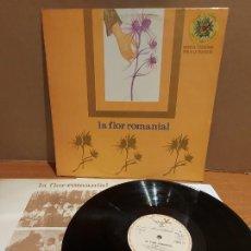 Discos de vinilo: XESCO BOIX / LA FLOR ROMANIAL / LP - PARDAL-1977 / MBC. ***/*** LETRAS.. Lote 224665475
