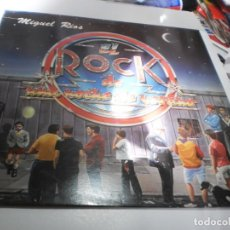 Discos de vinilo: LP MIGUEL RÍOS. EL ROCK DE UNA NOCHE DE VERANO. POLYDOR 1983 (PROBADO, BIEN, SEMINUEVO). Lote 224665695