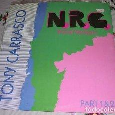 Discos de vinilo: TONY CARRASCO N.R.G. 1990. Lote 224676363